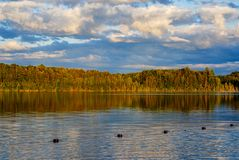 Península superior Michigan del lago pete's fotografía de archivo libre de regalías