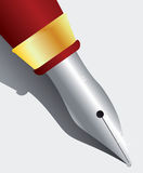 Pen. Vector illustration of a pen Stock Photography