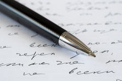 Pen Royalty-vrije Stock Afbeelding