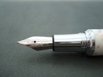 Pen. The ink pen for the business writing Stock Image