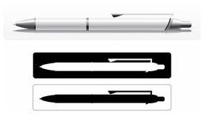 Pen_2 ilustração stock