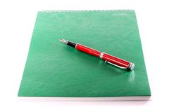 Free Pen And Note-book Stock Photos - 9457523