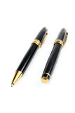 Pen and ball pen Royalty Free Stock Images