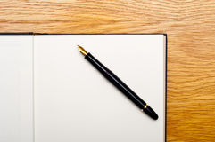 Pen and book Royalty Free Stock Image