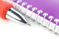 Pen and book Royalty Free Stock Photography