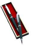 Pen in box Stock Photos