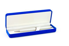 Pen in the box Royalty Free Stock Images