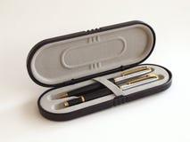 Pen box stock photography