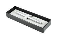 Pen in box Royalty Free Stock Photo