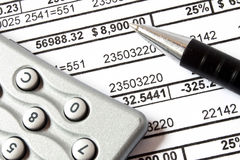 Accounting concept Stock Image