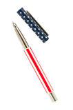 Pen and cap Royalty Free Stock Photo