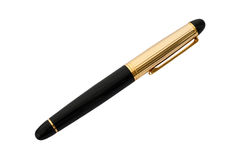 Pen with cap Royalty Free Stock Image