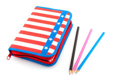 Pen case Stock Photo
