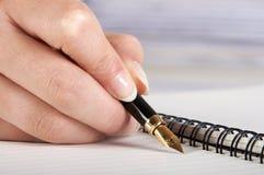 Pen close-up Stock Photography