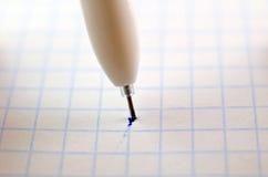 Pen closeup Stock Images