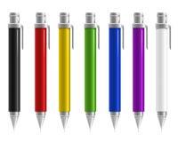 Pen Colorful Arkivbild