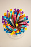 Pen Colorful Royaltyfri Bild
