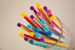 Pen Colorful Stock Foto's