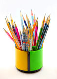 Pen container Royalty Free Stock Image