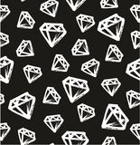Pen Diamond Seamless Pattern Photos stock