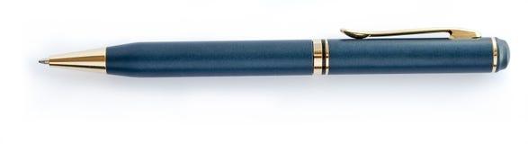 Pen die op wit wordt geïsoleerd Stock Afbeeldingen