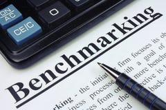 Pen en Calculator Stock Foto