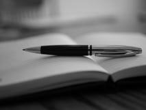 Pen en Document Stock Fotografie