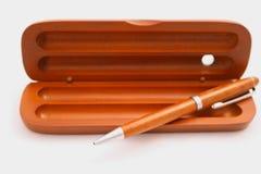 Pen en doos Royalty-vrije Stock Afbeelding