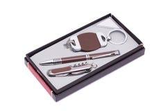 Pen en trinket in een doos Royalty-vrije Stock Fotografie