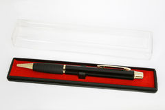 Pen in encasement Royalty Free Stock Images