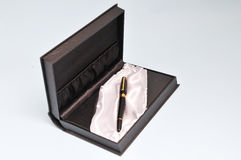 Pen gift box Royalty Free Stock Photos
