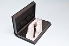 Free Pen Gift Box Royalty Free Stock Photos - 24339738
