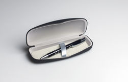 Pen in a gift box Stock Images