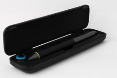 Pen graphic tablet on white background Stock Image