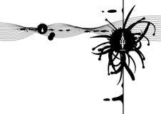 Pen Grunge. Vector pen grunge background design Royalty Free Stock Photography