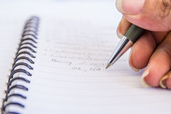 Pen handle Royalty Free Stock Photography
