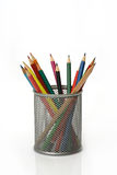 Pen holder Stock Photo