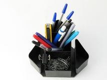 Pen holder Royalty Free Stock Photo