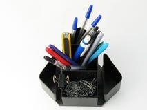 Pen holder Royalty Free Stock Photo