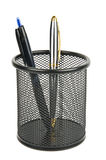 Pen holder Royalty Free Stock Images