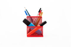 Pen holder Stock Image