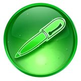 Pen icon. Royalty Free Stock Images