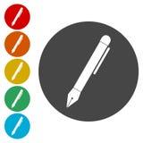 Pen Icon, Pen Icon Eps 10 illustration libre de droits