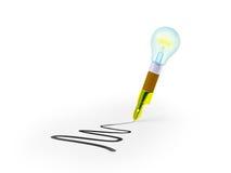 Pen Idea Stock Photo
