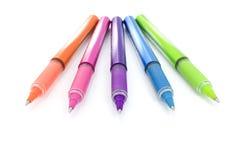 Pen III van de kleur Stock Foto