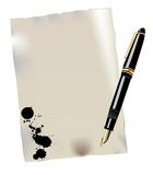 Pen  illustration Royalty Free Stock Images