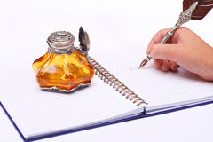 Pen and ink Stock Photography