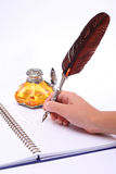 Pen and ink Stock Photo