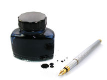 Pen and ink Stock Photos