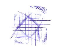 Pen & Ink Doodle Royalty Free Stock Images
